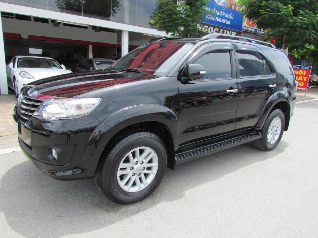 Thuê xe Toyota Fortuner 2014